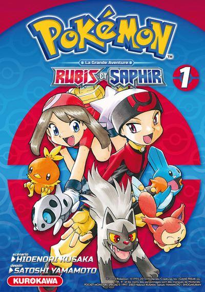 Les Pokémon - Tome 1 : Pokémon Rubis et Saphir