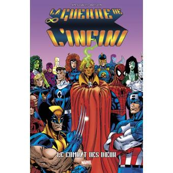 Marvel goldLa guerre de l'infini