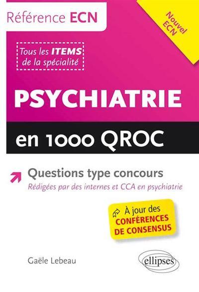 Psychiatrie en 1000 QROC