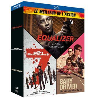 Coffret Le Meilleur de l'action Blu-ray
