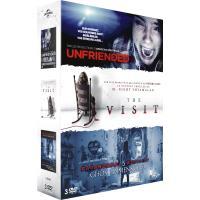 Coffret Horreur 2016 3 films DVD