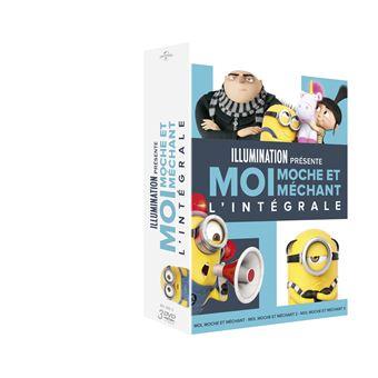 Moi, moche et méchantMoi, moche et méchant L'intégrale Coffret DVD