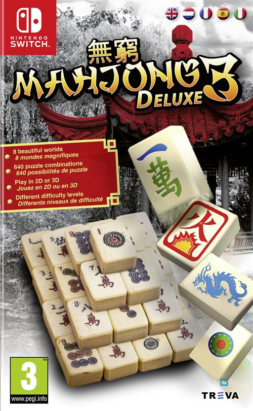 Mahjong Deluxe 3 Nintendo Switch