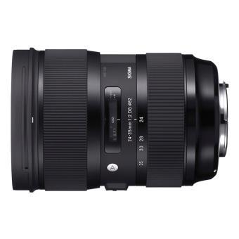 Sigma DSLR-cameralens 24-35 mm F / 2 DG HSM ART Zwart Canon EF-montage