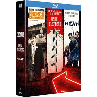 Coffret French Connection Heat Usual Suspects Blu-ray