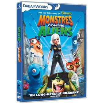 Monstres contre Aliens DVD