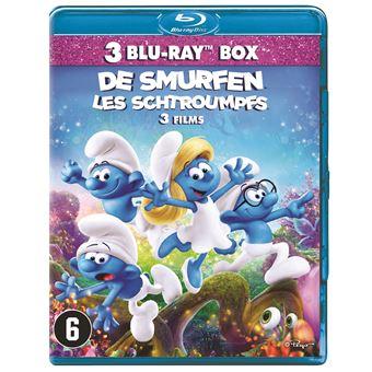 De Smurfen 1/2/3 - Nl/Fr - Bluray
