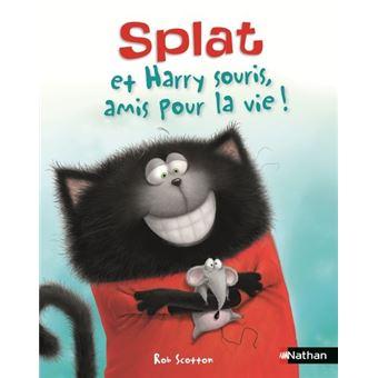 SplatSplat et Harry souris, amis pour la vie !