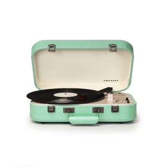 platine portable crosley coupe cr6026a bluetooth menthe platine vinyle fnac. Black Bedroom Furniture Sets. Home Design Ideas