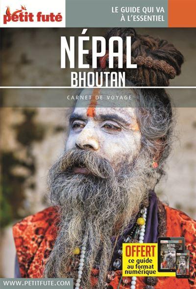 Nepal - bouthan 2018 carnet petit fute + offre num