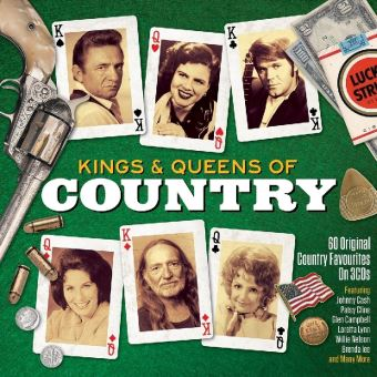 KINGS AND QUEENS OF COUNTRY/3CD