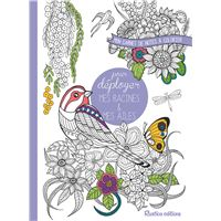 Mon carnet de notes à colorier pour déployer mes racines et mes ailes