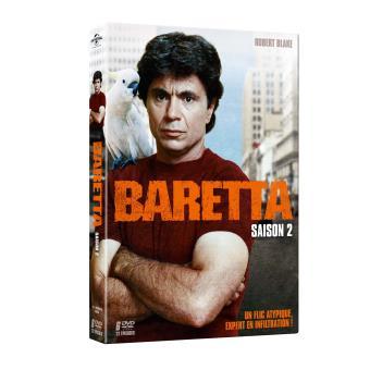 BarettaBaretta Saison 2 Coffret DVD