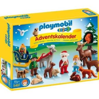 Père 2 5497 L'avent Animaux 3 1 De Les Noël Playmobil Et Calendrier CxerdBoW