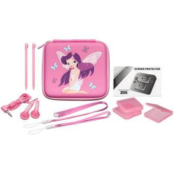 Bigben pack fairy nintendo 2ds accessoire console de for Housse nintendo 2ds xl