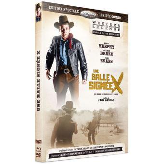 Une balle signée X Combo Blu-ray DVD