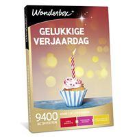 Wonderbox NL Gelukkige Verjaardag