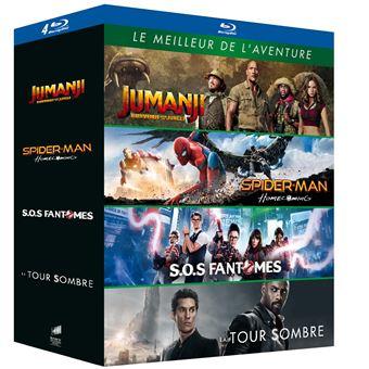 JumanjiCoffret Le Meilleur de l'aventure Blu-ray