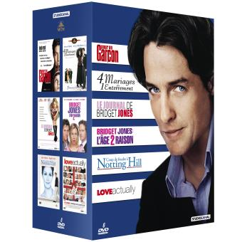Coffret Hugh Grant 2016 6 films DVD