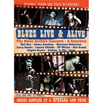 Blues Live & Alive The Blues Archive Concerts A Selection DVD
