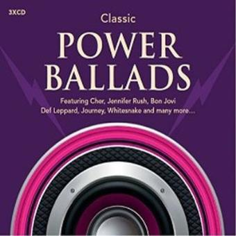 Classic power ballads