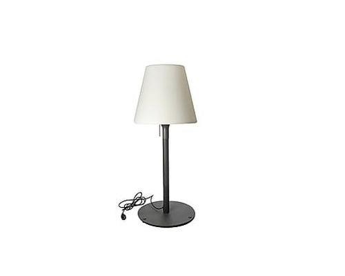 STANDY W52, lampadaire design couleur blanc froid sur secteur 28x28x52 cm