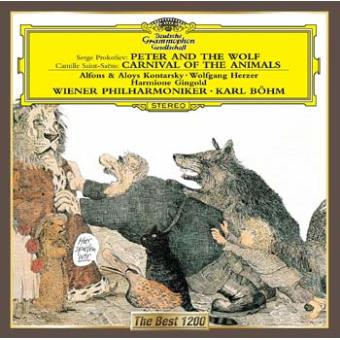 Prokofiev : Peter and Wolf Saint-Saëns : Carnival of the Animals