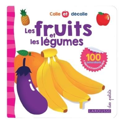 Colle et décolle - Les fruits et les légumes