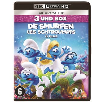 SMURFS 1/2/3-BIL-BLURAY 4K