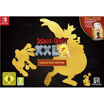 Astérix et Obélix XXL2 Edition Collector Nintendo Switch