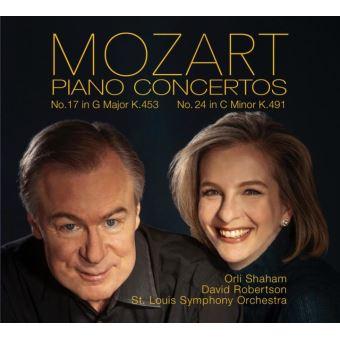 Concertos pour piano numéros 17 et 24