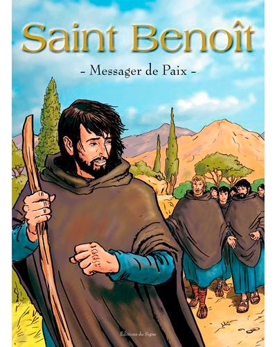 Saint Benoit,messager de la paix