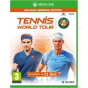 Tennis World Tour Roland Garros Edition Complete Xbox One