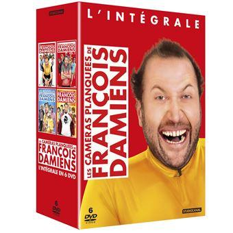 Coffret L'Intégrale des caméras planquées de François Damiens 4 films DVD