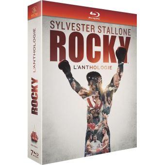 RockyCoffret Rocky L'anthologie Blu-ray