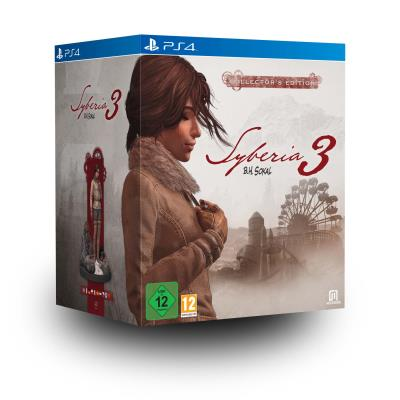 Syberia 3 Edition Collector PS4