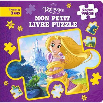 RaiponceMon petit livre puzzle