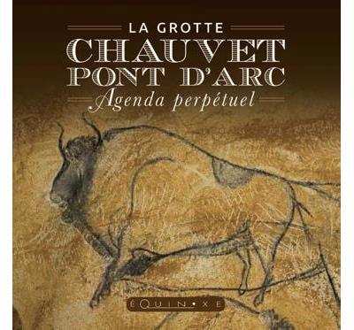 Agenda perpétuel de la grotte Chauvet-Pont-d'Arc