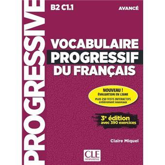 Vocabulaire Progressif Du Francais Avance Appli Cd 2ed