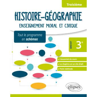 Histoire Geographie 3eme Special Brevet