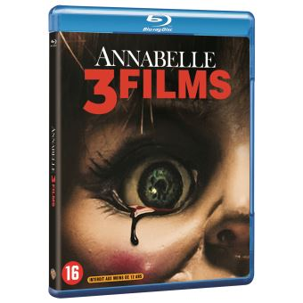 AnnabelleCoffret Annabelle La Trilogie Blu-ray