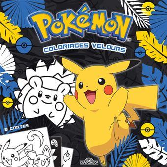 Les PokémonPokemon coloriages velours