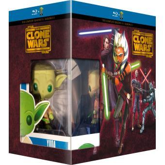 Star Wars : The Clone WarsCoffret Star Wars The Clone Wars Blu-ray