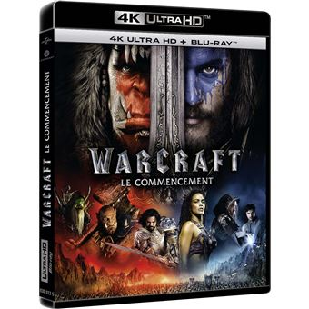 Warcraft Le commencement Blu-ray 4K