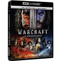 Warcraft Le commencement Blu-ray 4K Ultra HD