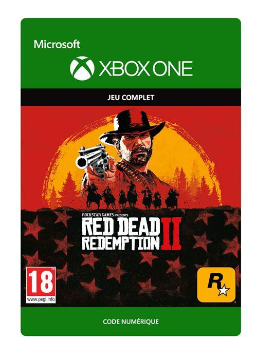 Code de téléchargement Red Dead Redemption 2 Xbox One