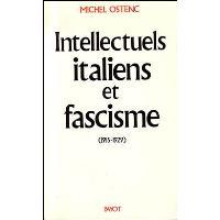 Intellectuels italiens et fascisme
