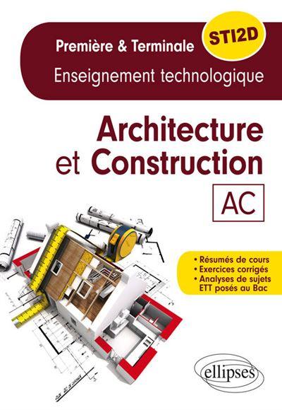 Spécialité architecture et constructions 1ère Term STI2D