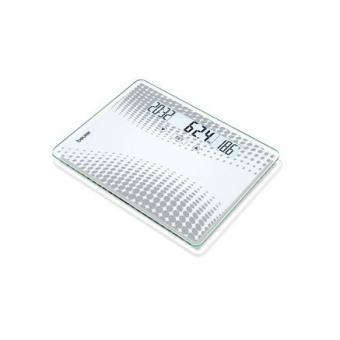 Weegschaal met impedantiemeter van glas Beurer GS 51 XXL