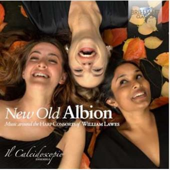 New Old Albion-Music Around The Harp Consorts